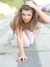 Красивая малышка с длинными ногами в чулках, фото 6