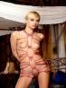 Связанная блондинка с татуировкой, фото 12