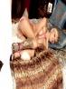 Связанная блондинка с татуировкой, фото 16