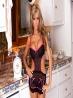 Гламурная голая домохозяйка с сочной попой, фото 2
