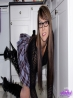 Зрелая девка в очках с голой попкой без трусов (12 фото), фото 1