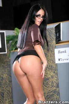 Голая секретарша в очках