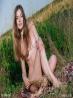 Прелестная молодая модель голая на траве (12 фото), фото 8