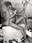 Черно-белые фотографии обнаженной модели Кристины, фото 6