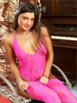 Податливая задница длинноногой милашки в розовом белье, фото 1