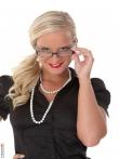 Строгая и сексапильная секретарша в очках, фото 8