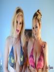 Любимые блондинки с натуральными дойками, фото 4