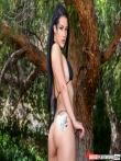 Татуированная латинская шлюшка с массивной голой задницей, фото 5