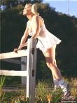 Ретро эротика зрелой дамы с косичками, фото 3