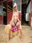 Роскошная масляная жопа девушки-ковбой, фото 6