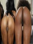 Парад голых негритянских попок от аппетитных секретарш в чулках (21 фото), фото 13