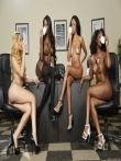 Парад голых негритянских попок от аппетитных секретарш в чулках (21 фото), фото 18