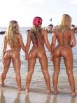 Заводные латинские задницы на берегу моря, фото 17
