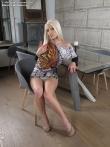 Горячая попка зрелой порно звезды Blanche Bradburry с дилдо в анале, фото 3