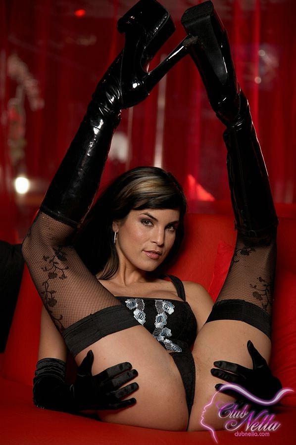 Порно девушки в черных чулках смотреть онлайн 17032 фотография