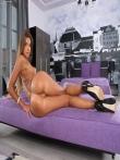 Превосходная задница худой модели Maria Rya, фото 11