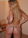 Любительские фотки больших голых сисек приятной блондинки, фото 7