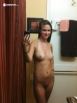 Свежие селфи голых девушек из фейсбука, фото 19