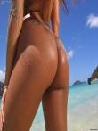 Мокрые и в масле большие попки сочных девушек (30 фото), фото 18