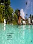 Красивая негритянка с огромными натуральными сиськами под водой, фото 1