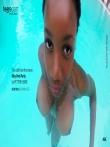 Красивая негритянка с огромными натуральными сиськами под водой, фото 13