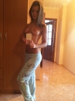 Подборка любительских селфи с голыми и раздевающимися девушками, фото 11