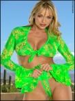 Зрелая блондинка Amber Evans показывает голые сиськи вместе с крепкой жопой, фото 5