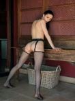 Похотливая шлюшка в сексапильном нижнем белье, фото 11