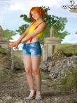 Фантастическая рыжая шлюшка снимает джинсы с аппетитной попки, фото 4