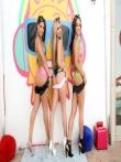 Большие роскошные жопы латинок в бикини, фото 3