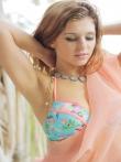 Обалденная голая попка Leah Gotti без трусов раком на балконе, фото 10