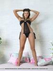Красивая голая попка модели в бикини, фото 10