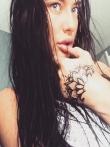 Любительские фото татуированных девок, фото 4
