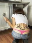 Любительские фото татуированных девок, фото 6