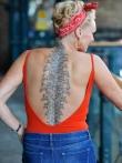 Любительские фото татуированных девок, фото 7