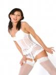 Шлюшка с косичками в кружевном нижнем белье, фото 3
