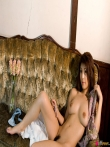 Милая азиатка с волосатой писькой и сочной жопой, фото 8