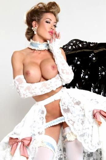 Винтажная эротика с гламурной порнозвездой Capri Cavanni