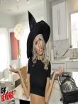 Секс в костюме на хеллоуин красотки Janice Griffith с волосатой писькой, фото 1