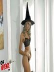 Секс в костюме на хеллоуин красотки Janice Griffith с волосатой писькой, фото 6