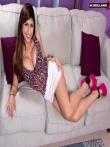 Арабская порнозвезда показывает большие экзотические дойки и жопу, фото 2
