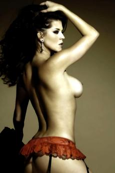 Красивая голая девушка Alicia Machado (15 фото)