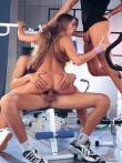 Групповуха со спортсменкой Рита Фалтояно в спортзале, фото 5