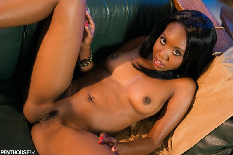 Порно соло африканки