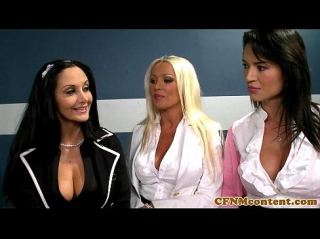 Гламурные дамочки насмотрелись порно и решили сами поучавствовать в глори холле